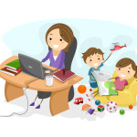 stay-at-home-mom-working-online
